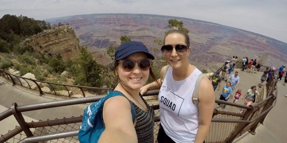 Alana adult with CF at the Grand Canyon