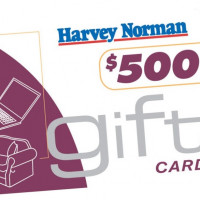 Prize 4 Harvey Norman Gift Card