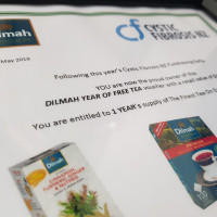 Prize 7 Year of Dilmah Tea