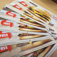 Prize 10 Burger King vouchers
