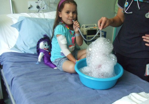 Anahera Bubbles in Hospital