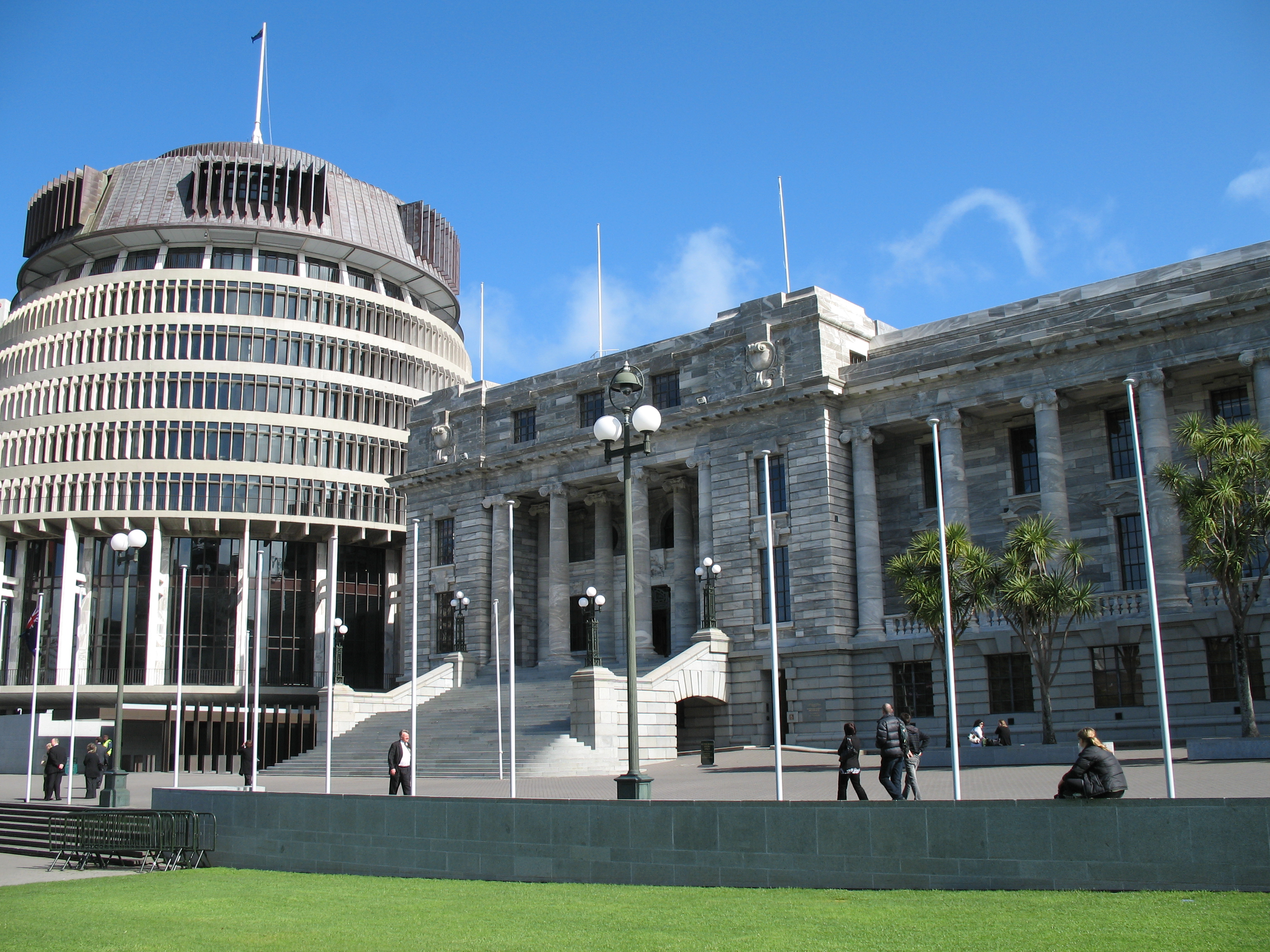Beehive and Parliament House